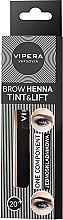 Profumi e cosmetici Hennè sopracciglia - Vipera Tint&Lift Brow Henna