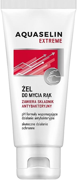 Gel per il lavaggio delle mani con ingrediente antibatterico - Aquaselin Extreme Antibacterial Handwash Gel