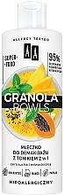 Profumi e cosmetici Latte detergente con tonico per pelli sensibili e disidratate - AA Granola Bowls Makeup Remover Milk And Tonic 2 in 1