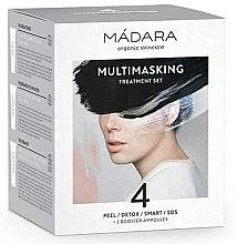 Profumi e cosmetici Set - Madara Cosmetics Multimasking Treatment Set (f/mask/12,5ml*4 + f/ampoule/3ml*2)