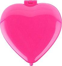 """Profumi e cosmetici Specchio compatto """"Cuore"""" 85550, rosa - Top Choice Colours Mirror"""