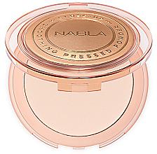 Profumi e cosmetici Cipria compatta - Nabla Close-Up Smoothing Pressed Powder