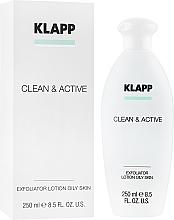 Profumi e cosmetici Esfoliante per la pelle grassa - Klapp Clean & Active Exfoliator Oily Skin