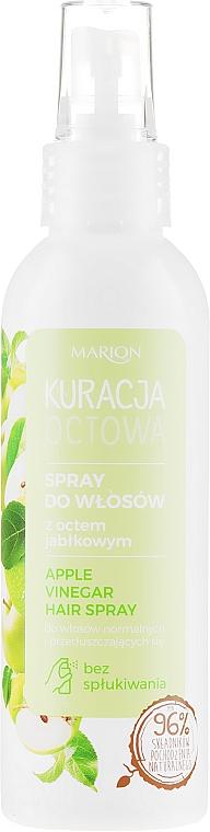 Spray all'aceto di mele per capelli normali e grassi - Marion Apple Vinegar Hair Spray