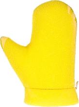 """Profumi e cosmetici Guanto da massaggio """"Aqua"""", 6021, giallo - Donegal Aqua Massage Glove"""