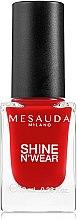 Profumi e cosmetici Smalto per unghie - Mesauda Milano Shine N`Wear Nail Polish