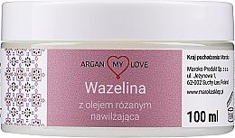 Profumi e cosmetici Vaselina con olio di rosa per viso e corpo - Argan My Love