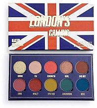 Profumi e cosmetici Palette ombretti, 10 colori - Makeup Obsession London's Calling Eyeshadow Palette