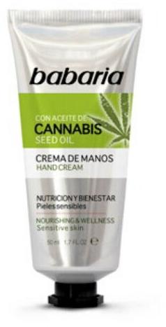 Crema mani - Babaria Cannabis Hand Cream — foto N1