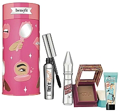 Profumi e cosmetici Set - Benefit Bring Your Own Beauty Set (mascara/8g + br/gel/3g + bronzer/8g + primer/7.5ml)