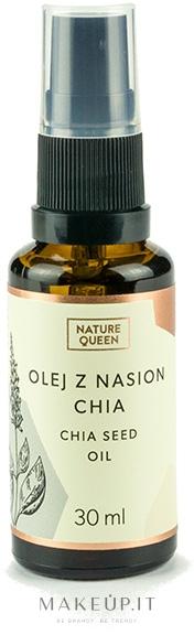 Olio di semi di Chia - Nature Queen Chia Seed Oil — foto 30 ml
