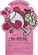 Profumi e cosmetici Maschera in tessuto - Tony Moly I'm Real Red Wine Mask Sheet