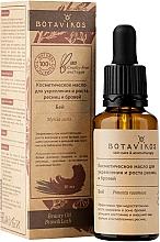"""Profumi e cosmetici Olio cosmetico rinforzante e crescita ciglia e sopracciglia """"Bay"""" - Botavikos"""