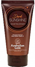 Profumi e cosmetici Lozione solare - Austraian Gold Sunscreen Dark Magnifying Bronzer Professional Lotion