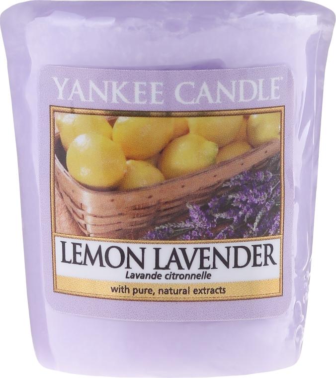"""Candela profumata """"Limone e lavanda"""" - Yankee Candle Scented Votive Lemon Lavender"""
