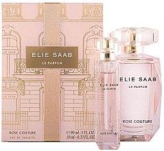 Profumi e cosmetici Elie Saab Le Parfum Rose Couture - Set (edt/90ml + edt/mini/10ml)
