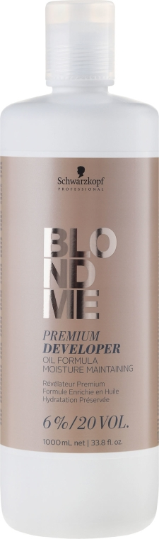 Balsamo ossidante 6% - Schwarzkopf Professional Blondme Premium Developer 6%