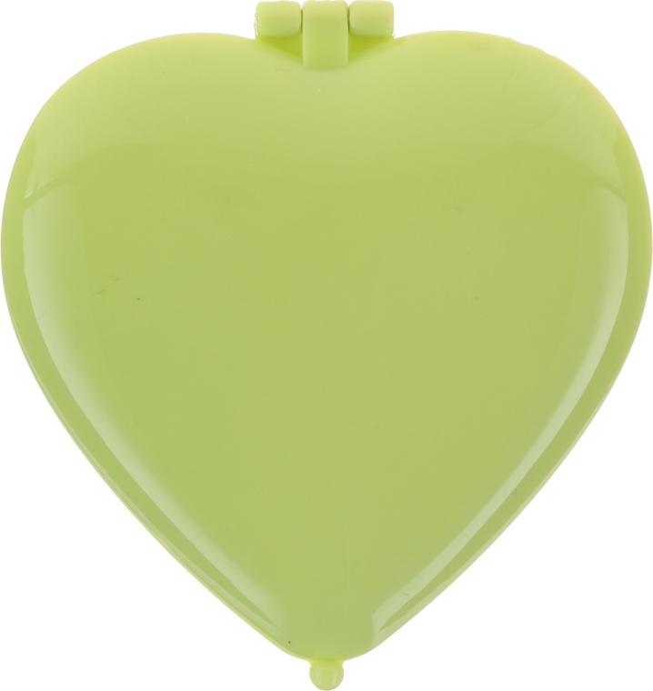 """Specchietto compatto """"Cuoricino"""", verde chiaro - Top Choice Colours Mirror"""