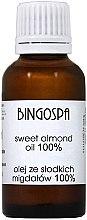 Profumi e cosmetici Olio di mandorle dolci 100% - BingoSpa