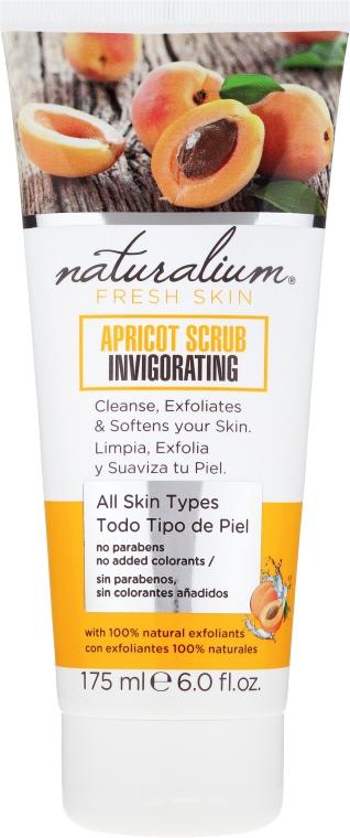 Scrub corpo - Naturalium Invigorating Apricot Scrub — foto N1