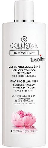 Latte micellare 3 in 1 - Collistar Idro Attiva Latte Micellare 3 in 1