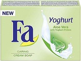 """Profumi e cosmetici Sapone cremoso """"Aloe vera e Proteine dello yogurt"""" - Fa Yoghurt Aloe Vera Cream Soap"""