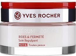 Profumi e cosmetici Crema per levigare le rughe da notte - Yves Rocher Serum Vegetal Firming Night Cream