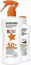 Profumi e cosmetici Set - Babaria Sun (b/spray/200ml + balm/100ml)