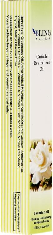 "Olio per cuticole ""Gelsomino"" - Bling Nails Cuticle Revitalizer Oil Jasmine Oil"