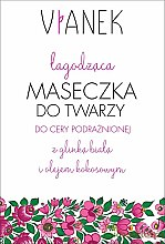 Profumi e cosmetici Maschera viso lenitiva - Vianek