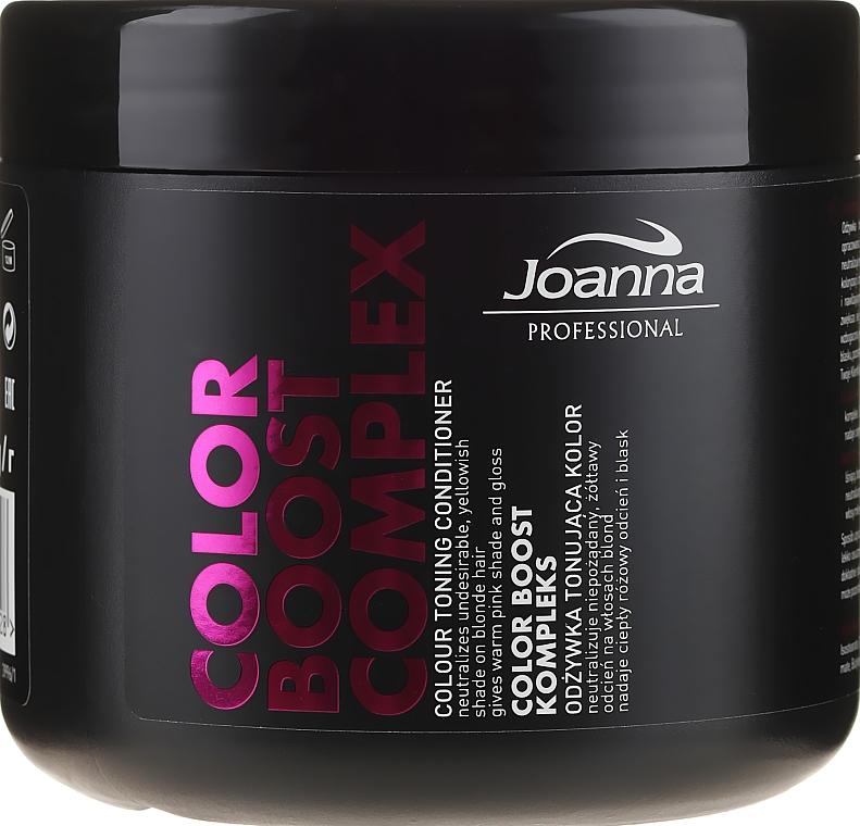 Balsamo colorante per capelli biondi - Joanna Professional Color Boost Complex Conditioner