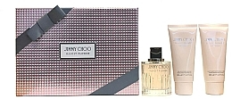 Profumi e cosmetici Jimmy Choo Illicit Flower - Set (edt 100ml + b/l 100ml + s/g 100ml)