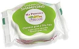 """Profumi e cosmetici Bioshampoo solido per capelli grassi """"Argilla verde"""" - Ma Provence Shampoo"""
