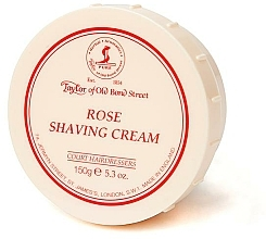 "Profumi e cosmetici Crema da barba ""Rose"" - Taylor of Old Bond Street Rose Shaving Cream Bowl"