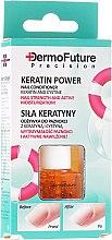 """Profumi e cosmetici Condizionante per le unghie """"Il potere della cheratina"""" - Dermofuture Keratin Power Nail Conditioner Keratin&Cystine"""