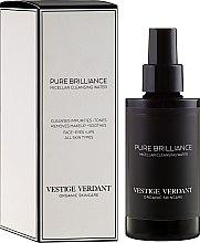 Profumi e cosmetici Acqua micellare - Vestige Verdant Pure Brilliance Micellar Cleansing Water