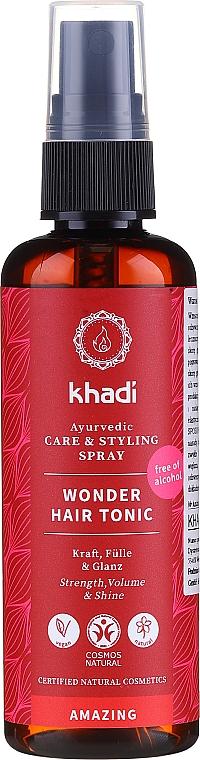 Tonico per capelli a base di erbe medicinali ayurvediche - Khadi Wonder Hair Tonic