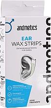 Profumi e cosmetici Strisce depilatorie per orechie - Andmetics Ear Wax Strips Men