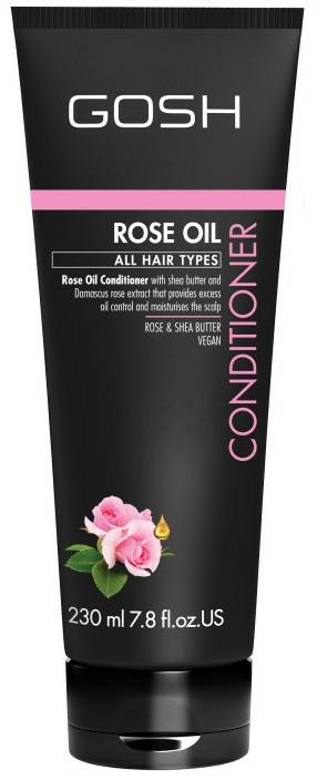Condizionante per capelli con olio di rose - Gosh Rose Oil Conditioner