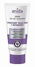 Profumi e cosmetici Crema mani e unghie - Anida Pharmacy Milk Hand Cream