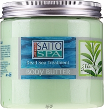 Profumi e cosmetici Burro corpo con estratto di tè verde - Saito Spa Body Butter