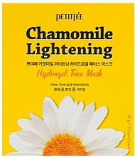 Profumi e cosmetici Maschera viso in idrogel illuminante - Petitfee&Koelf Chamomile Lightening Hydrogel Face Mask