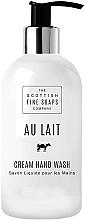 Profumi e cosmetici Sapone liquido - Scottish Fine Soaps Au Lait Cream Hand Wash