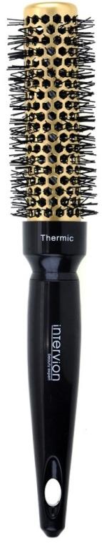 Spazzola termica per capelli, 25 mm - Inter-Vion Gold Label Thermic — foto N1