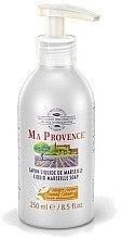 """Profumi e cosmetici Sapone liquido di Marsiglia """"Arancione"""" - Ma Provence Liquid Marseille Soap Orange"""