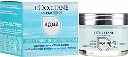 Profumi e cosmetici Crema viso ultra-idratante - L'Occitane Aqua Reotier Acial Ultra Hidratante