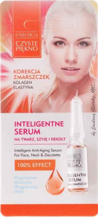 Siero per viso, collo e décolleté con collagene ed elastina - Czyste Piekno Inteligentne Serum