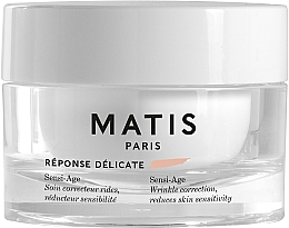 Profumi e cosmetici Crema lenitiva antirughe per pelli sensibili - Matis Reponse Delicate Sensi-Age