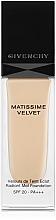 Profumi e cosmetici Fondotinta - Givenchy Matissime Velvet Liquid Foundation SPF 20