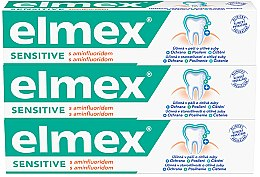 Profumi e cosmetici Set - Elmex Sensitive Toothpaste (toothpaste/3x75ml)